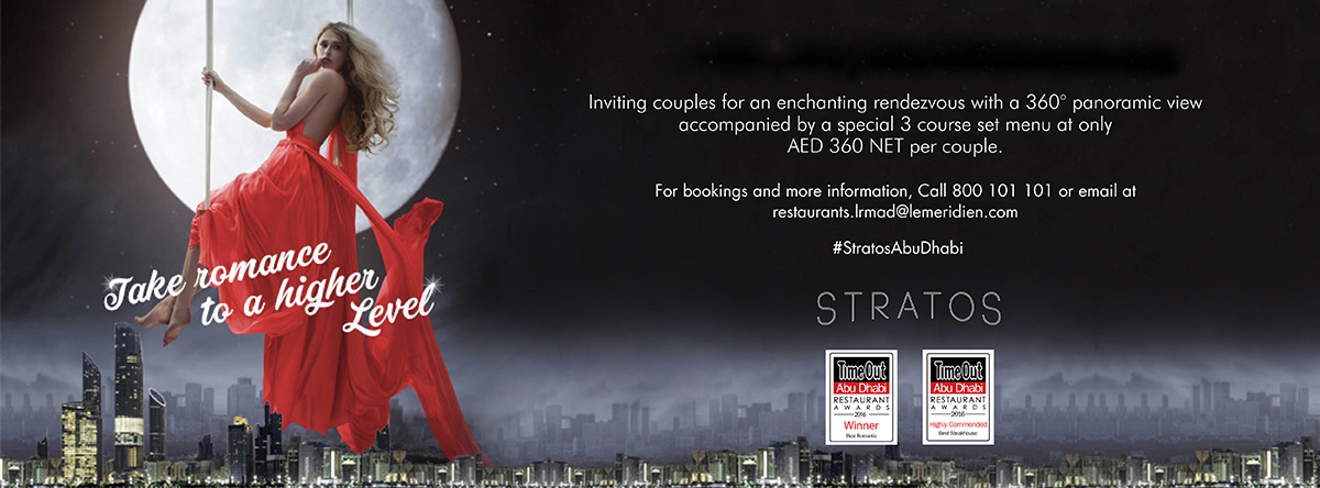 Take romance to a higher level @ Stratos