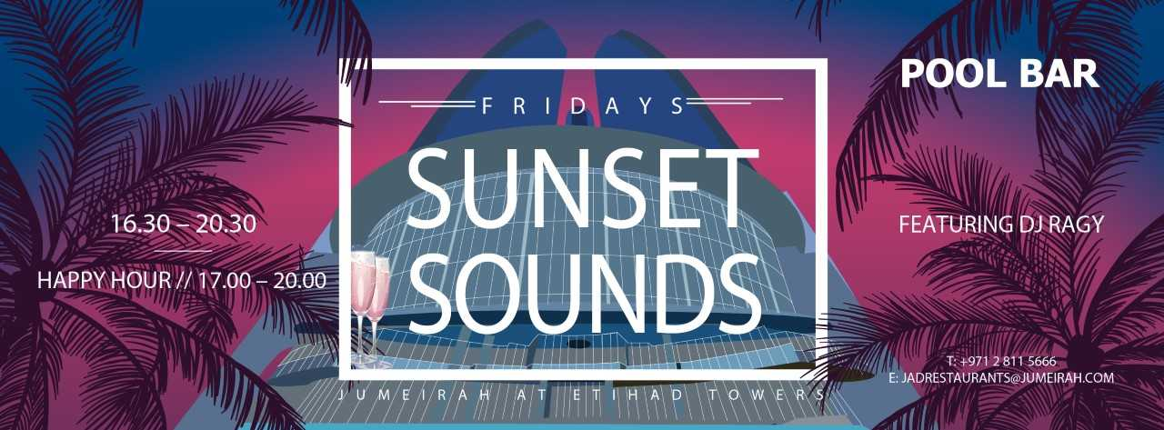 Sunset Sounds @ Jumeirah at Etihad Towers