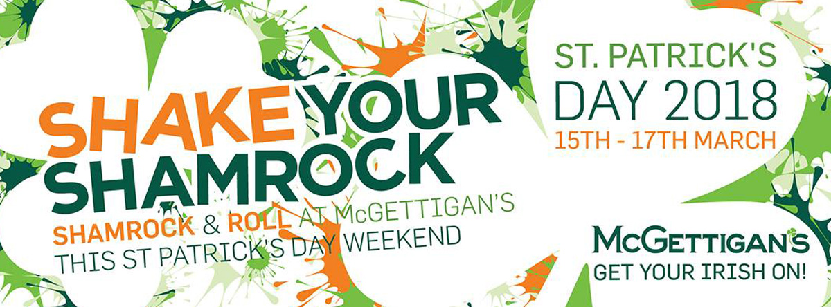Shake your Shamrock @ McGettigans