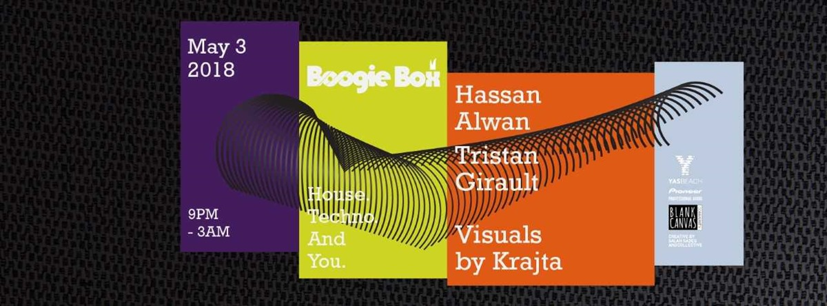 Boogie Box Closing Party with Hassan Alwan and Tristan Girault