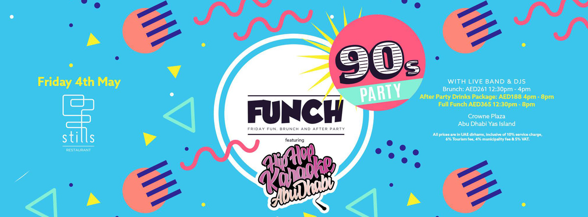 Funch 90's ft Hiphop Karaoke @ STILLS