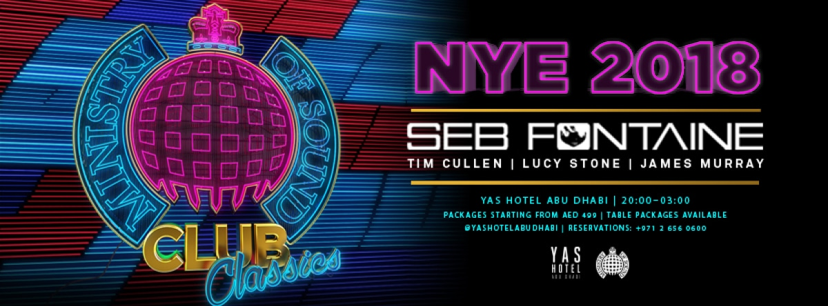 Ministry of Sound Club Classics NYE 2018 @ Skylite