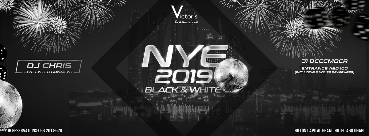 New Year's Eve in Style @ Victor's Pub