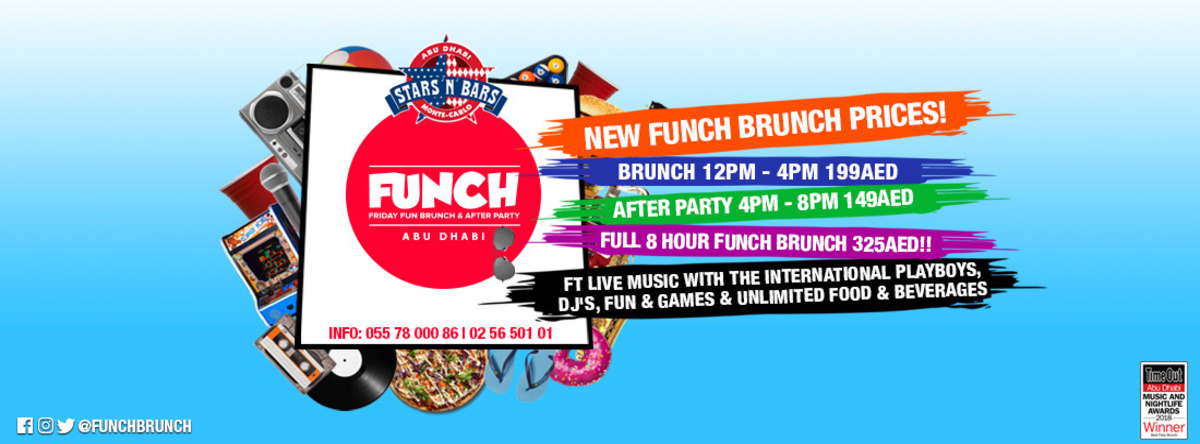 FUNCH Brunch & After Party @ Stars n Bars
