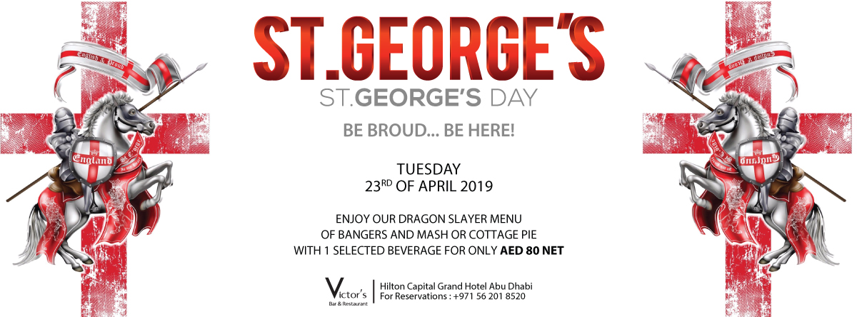 St. George's Day @ Victors