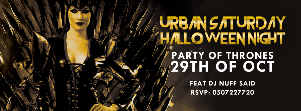 Urban Saturday Party of Thrones Halloween Night @ Catch