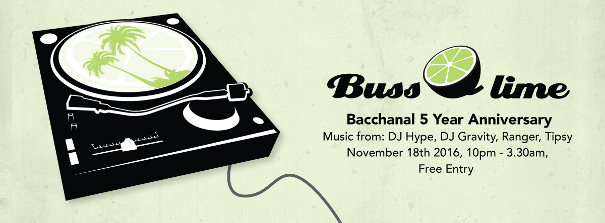 Bacchanal 5 Year Anniversary @ Catch