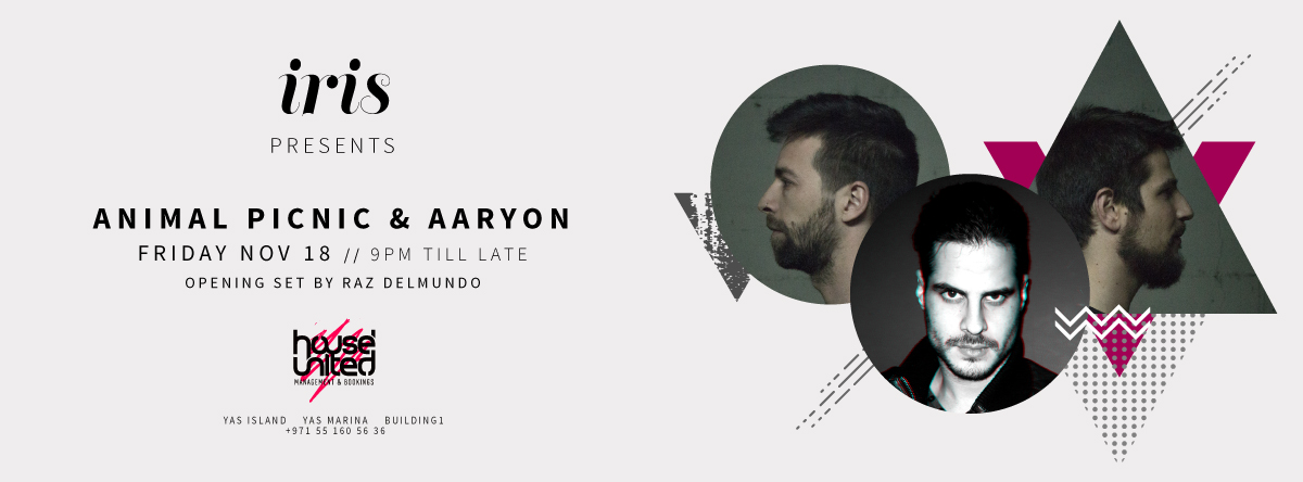 ANiMAL PiCNiC & AARYON LIVE AT IRIS YAS ISLAND