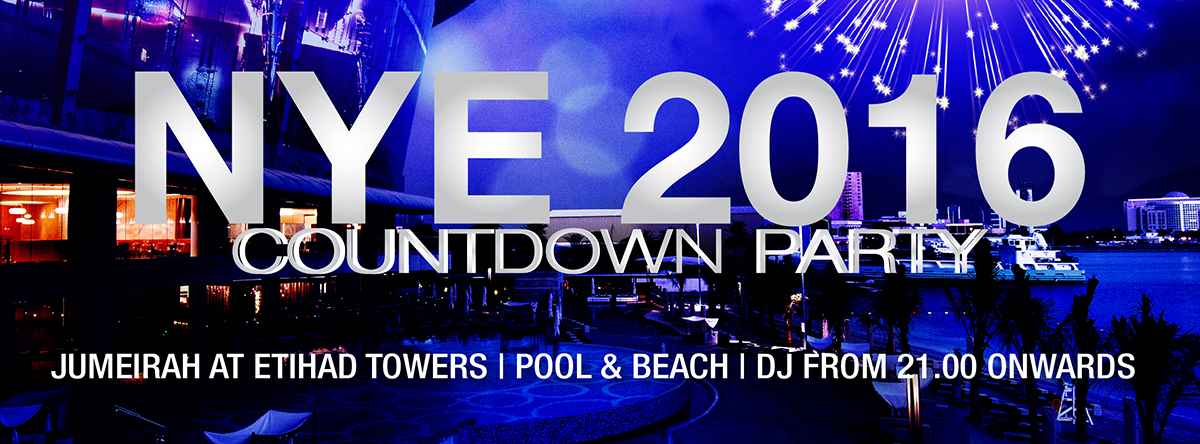 New Years Eve 2016 countdown party