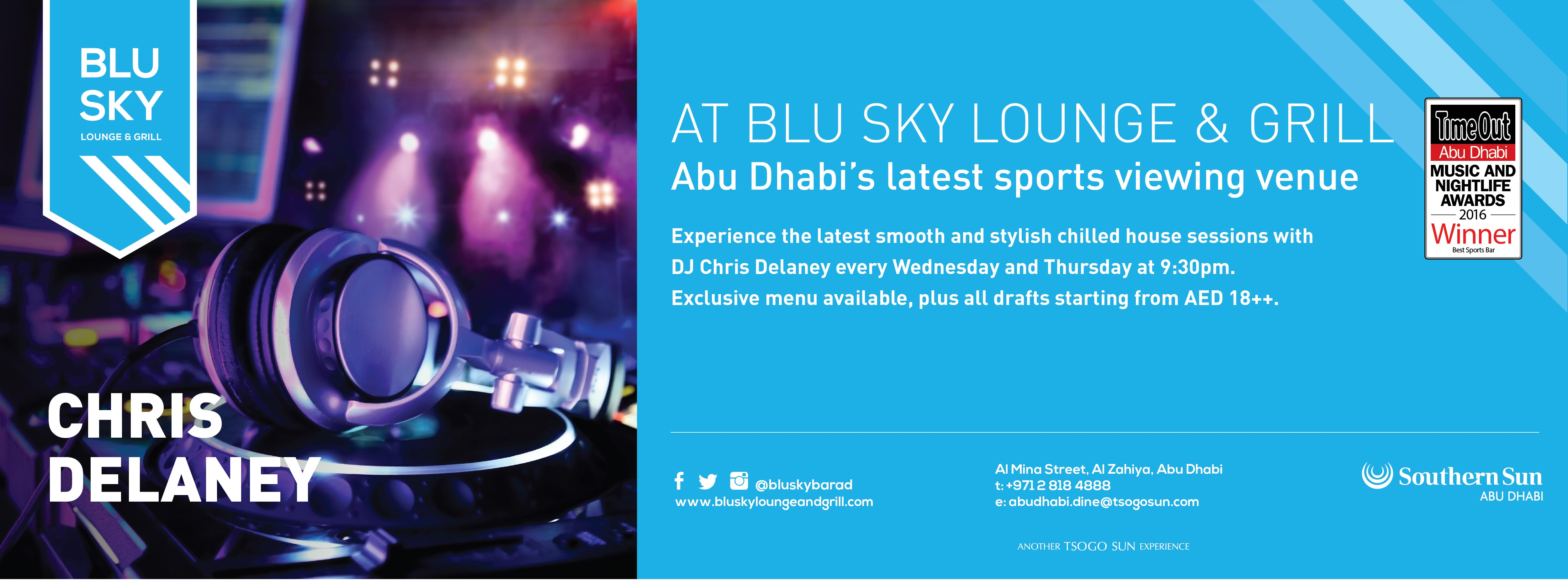 Chris Delaney @ Blu Sky