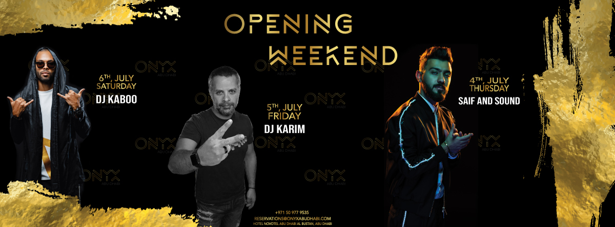 Launch Weekend @ ONYX Club
