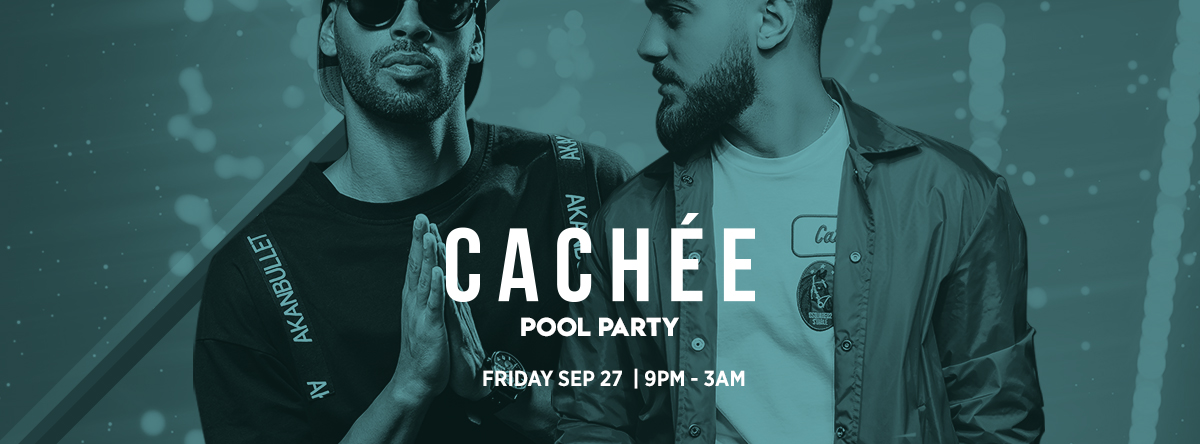 Cacheé Pool Party @ Saadiyat Beach Club